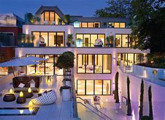 Ok if I could afford this home surely I could afford someone to wash all those windows! Stunning view
