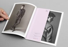 Sophisticated Look Book Page Layout Design {picture with white border / insert description} // Hanna ter Meulen by USEFUL