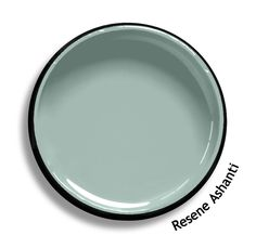 Resene Ashanti is an aqua influenced grey, nebulous and misty. From the Resene… Exterior Paint Colors For House, Interior Paint Colors, Paint Colors For Home, Paint Colours, Colorful Decor, Colorful Interiors, Resene Colours, Grey Painted Kitchen, Paintings