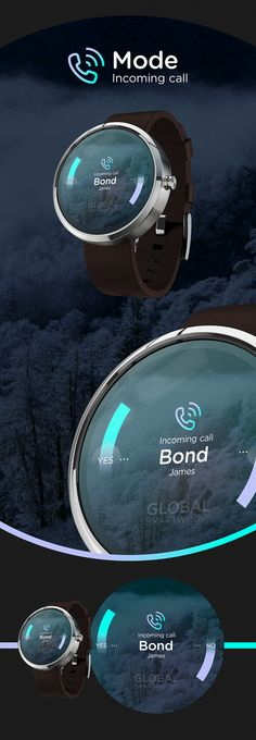 Smart Watch // Global Outlook™ on Behance