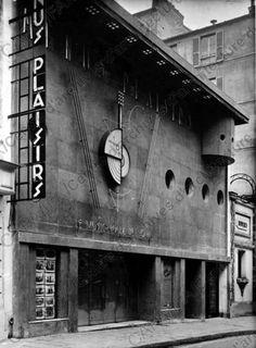 Théâtre des Menus-Plaisirs (1929-1930) 42, rue Pierre Fontaine Paris 75009. Architecte : Georges-Henri Pingusson.