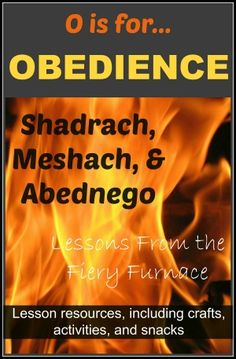 O is for Obedience