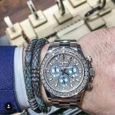 ROLEX  STING  Price $125000 USD (approx.) #watch6ix #rolex #cosmograph #prepetual #datejust #deepsea #diver #swissmade #swisswatches #luxurytimepieces #watches #luminescent #swisswatch #luxurywatches #chronometer #automaticwatch #mechanicalwatch #tachymeter #watchporn #tourbillon #chronograph #gems #ruby #diamonds #instawatch #watchmania #moonphase #sting #stingbracelet #stinghd by watch6ix