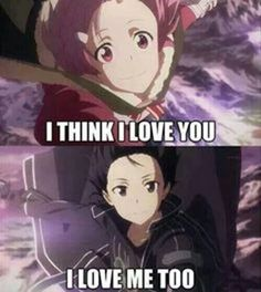 God.... Have some respect for ladies Kirito! XD
