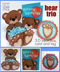 Bear Trio: click to enlarge