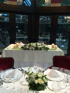 Wedding | Table Flower | 35--2 #akasaka #restaurant_wedding #approach_flower #night_wedding #io-plus