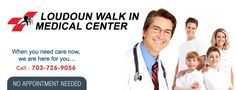 Loudoun Walk In Clinic is a wellbeing focus in Ashburn to serves every one of the patients whose possess specialist can't see them without prior warning who need to stay away from the long lines at an ER.
