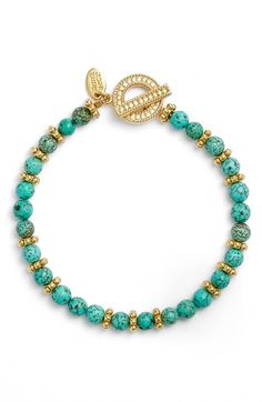 Anna Beck Turquoise Beaded Bracelet available at #Nordstrom