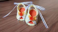 Sandalinha em Crochê
