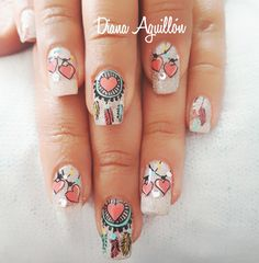 Nails, Diana, Beauty, Jewelry, Nail Techniques, Centre, Finger Nails, Jewlery, Ongles