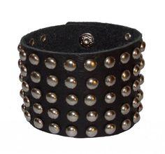 Fume Black Leather #Bracelet (FW BL 72)