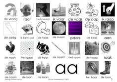 Afkijkplaat AA Kindergarten Lessons, Kindergarten Reading, Afrikaans Language, Letter School, Learn Dutch, Dutch Language, Kids Writing, Preschool, Mini