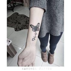http://instagram.com/karincatattoo #butterfly #tattoo #coverup #tattoos #minimal #small #tiny #design #girl #woman #armtattoo #blacktattoo #dövme #istanbul #tasarim