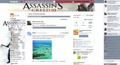 Theme for Facebook - Assassin's Creed 3
