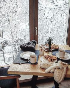 Invierno desde la ventana Christmas Images, Winter Snow, Most Beautiful, Christmas Pictures