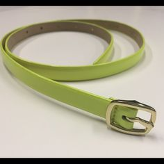 J.Crew belt Neon yellow jcrew belt in excellent condition!! NO wear and tear in the holes! :) makes for a great belt around the waist! J. Crew Accessories Belts