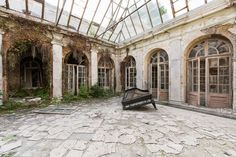 Photographer Travels Thousands Of Kilometers Looking For Abandoned Places In Europe - Travel tips - Travel tour - travel ideas Abandoned Castles, Abandoned Buildings, Abandoned Places, Places In Europe, Places Around The World, Around The Worlds, Travel Tours, Europe Travel Tips, Travel Ideas