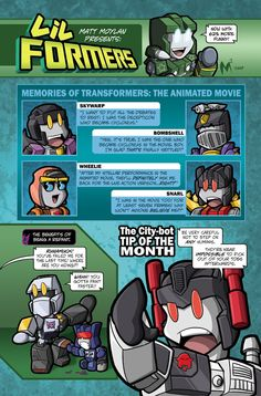 Lil Formers Club Mag by MattMoylan on DeviantArt Club Magazine, Rescue Bots, Monster Musume, Transformers Prime, Freedom Fighters, Gi Joe, Science Fiction, Chibi, Marvel