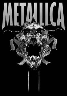 Image result for metallica artwork