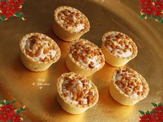 Xmas Food, Christmas Cooking, Mini Tartlets, Brie, Decadent Cakes, Tasty, Yummy Food, Catering Food, Mini Foods