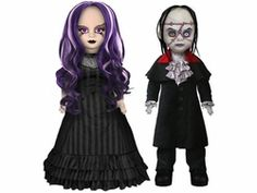 Living Dead Dolls - Scary Tales - Beauty and the Beast (Set of by Mezco Zombie Vampire, Scary Tales, Living Dead Dolls, Gothic Dolls, Monster Dolls, Creepy Dolls, Zombie Dolls, Figure It Out, Softies