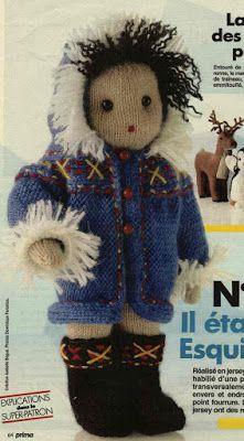 Avec de la laine: tuto esquimau tricot