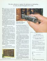 Franklin Mint Greatest Locomotives 1985 Ad Picture