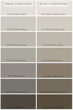 How To Choose The Perfect Grey Paint Color