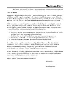 25 creative cover letter creative cover letter best graphic designer cover letter examples livecareer