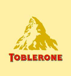 et oui, il y a un ours dans le logo Toblerone O__o