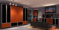 Garage Man Cave Ideas | ... cabinets, garage organizers, garage systems, garage design, man cave