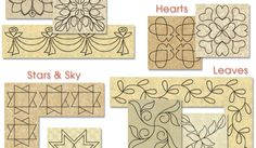 Quilting Designs from The Quiltmakers Collection Vol 4