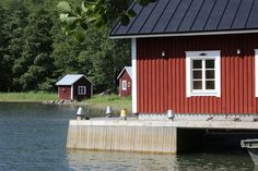 Boat house milieu Boat House, Archipelago, Scandinavian, Fishing, Shed, Villa, Outdoor Structures, Style, Swag
