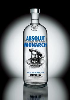 Absolut Vodka has the MOST creative & ingenious designs on their bottles<3<3<3