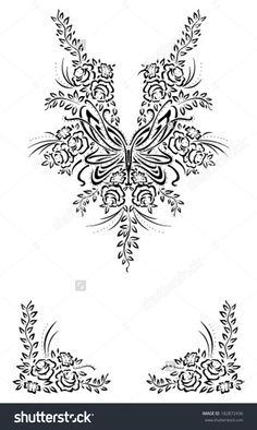 Border Ornament Neck Line