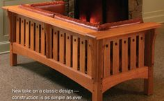 Building chairs - Build a Prairie settle. New take on a classic design — construction is as simple as ever