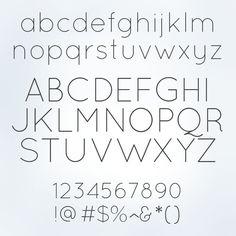 quicksand font - Google Search