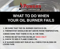 What to do when your oil burner fails?Here is the solution; http://b-px.xyz//d  #oil #burner #power #Boston #MAAttleboro #winter