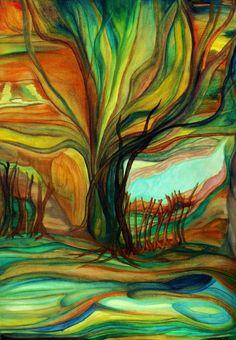"""Alegria"" oil on canvas"