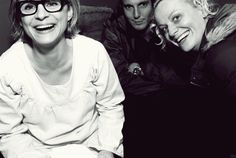 Amy Sedaris, Will Arnett and Amy Poehler. I would die to be in a room with these three.