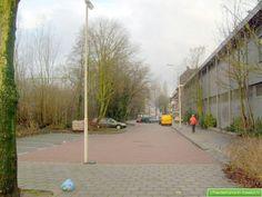 Begin van de Ceintuurbaan rechts de voormalige limonadefabriek van Tims