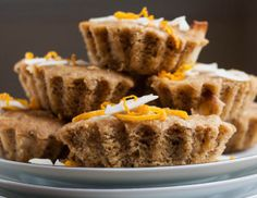 Orange Coconut Cakes from One Part Plant Blog by Jessica Murnane