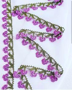 Look Bak Bitmez 107 Different Crochet Hijab Towel Edge Needlework Model Crochet Boarders, Crochet Edging Patterns, Crochet Lace Edging, Freeform Crochet, Baby Knitting Patterns, Crochet Towel, Embroidered Towels, Sunflower Tattoo Design, Tatting Lace