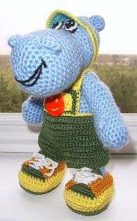 16 Best crochet hippos free pattern images in 2014 | Crochet hippo