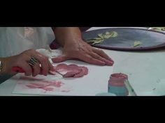 Sculptural painting ! KREATIVNA MASA Algora! - YouTube