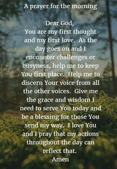 Prayer for the morning prayer to jesus, prayer for faith, prayers for peace Prayer Times, Prayer Scriptures, Bible Prayers, Faith Prayer, God Prayer, Power Of Prayer, Prayer Quotes, Bible Verses, Bible Quotes