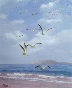 Galería Pintores Españoles :: Esteban Arriaga 'el Pintor Del Mar'