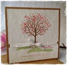 von Hand - von Herzen - von mir: Der Baum der Freundschaft blüht ....