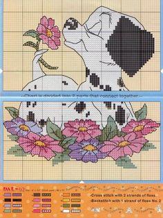 101 Dalmations cross stitch