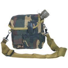 Fox Outdoor 2 Qt. Canteen Cover, Olive Drab 53-20 OD,2 QT,Woodland Camo -- Details can be found by clicking on the image.